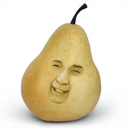 Smile you pear by xsy