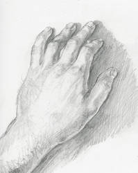 MY hand by captaincoconutz