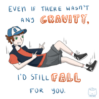 Dipper Pines Pickup Line (hey, that rhymes!) by Kitty-Irene