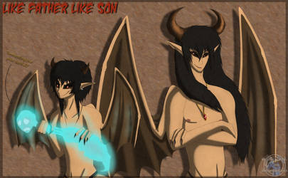 Like Father Like Son XD by Sapphiresenthiss