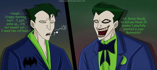Two Different Jokers XD by Sapphiresenthiss