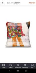 shars art gallery pillow  by jennifer31892