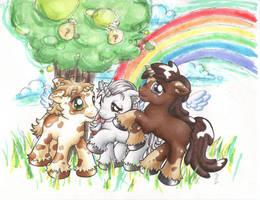 Fanciful Unicorns by ryamcshme
