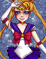 Sailor Moon by MadModesty