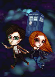 Doctor Who by MadModesty
