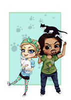 Commission Loek and Danielle by MadModesty