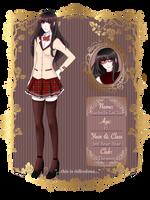 [EDF] Rachelle LeClair (ANgry Croissant-chan) by Meirulu