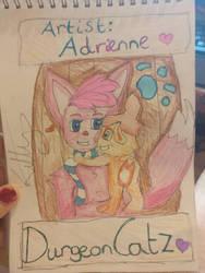 adriennas dungeoncatz logo by catgirlsp