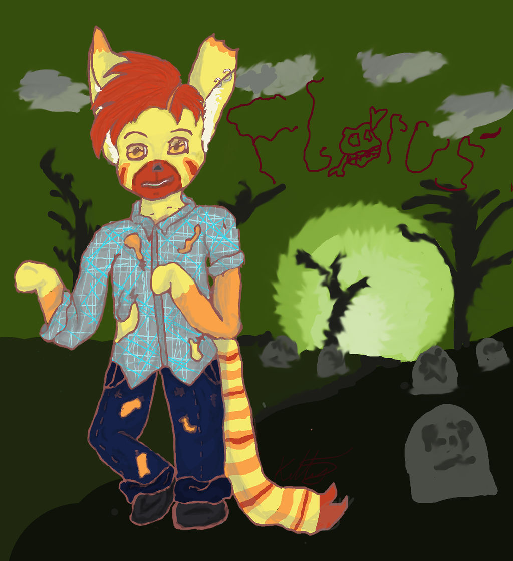 Zombie-florus by catgirlsp