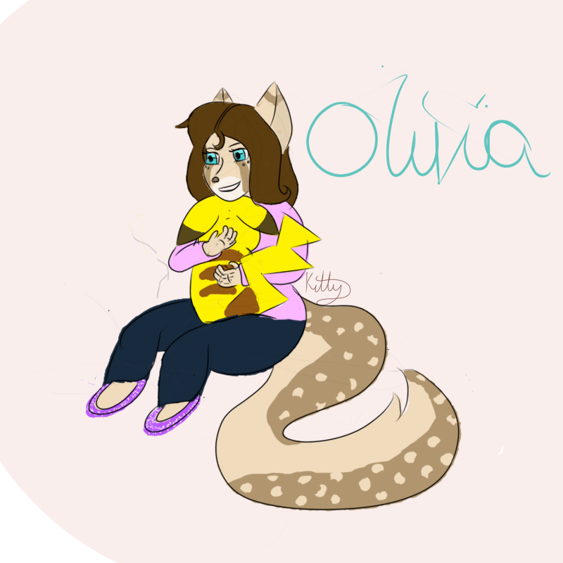 Olivias pikachu by catgirlsp