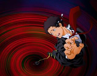 Persona 4 Adachi by tawashi-xxx