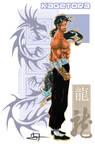 Kagetora, Heroes Unlimited RPG by IvanValladares