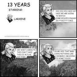 Kingdom Jerk: 13 years by hurfdurffandom