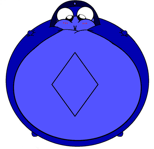 Meet Blululu the permanent blueberry Keronian by DicomaTheHumanoid