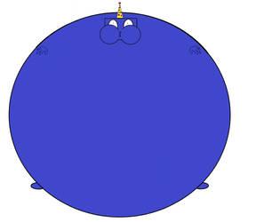 Blueberry Boy Blam wants a hug. by DicomaTheHumanoid