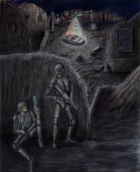 Escape by forestdino