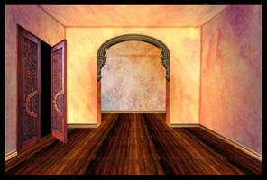 Hallway by OokamiKasumi