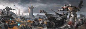 Warhammer 40000: Storm of Damocles by Bzitz