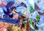 Sonic vs Jet by raseinn