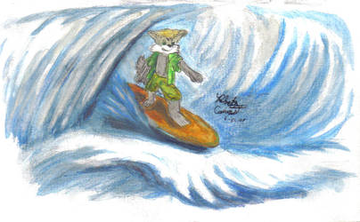 surfs up by Lupus1