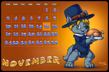 november calender by tavimunk by Lupus1