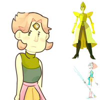 Pearl/Yellow Diamond Crackship child (request) by Tremendous-By-Design
