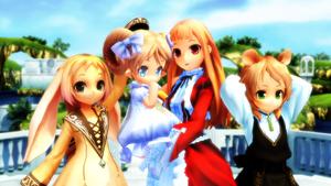 [MMD] Kanihira Girls by iMACobra