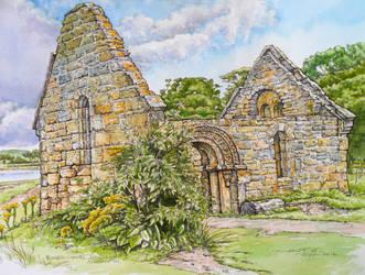 Mortuary Chapel, Alnmouth 2016 by jeffsmith1955