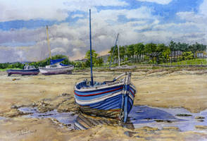 The Gracie B, Alnmouth, Northumberland by jeffsmith1955
