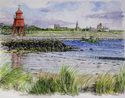 The Groyne, South Shields, and Tynemouth. by jeffsmith1955