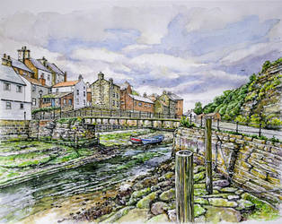 Staithes, North Yorkshire by jeffsmith1955