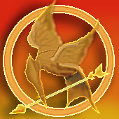 Mocking Jay Pin by luckiness13