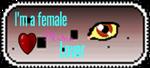 I'm a female Midna fan stamp by XEmoMidnaX