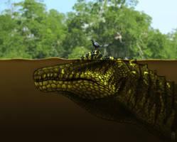 Spinosaurus Snorkel by JELSIN