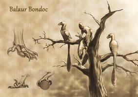 Balaur bondoc arboreal yesterdays by JELSIN