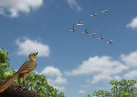 Archaeropteryx learning by JELSIN