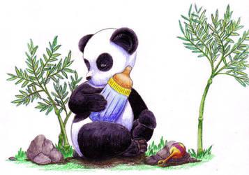 Baby Shower Panda by HappyBondageMistress