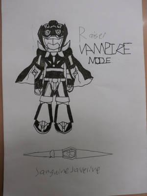 Technomancers: Raizer Vampire mode by firebyte27