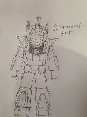 Transformers OC-ish: Diamondbolt by firebyte27