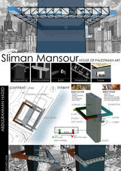 Sliman Mansour : House of Palestinian Art 1 by AbdoHad