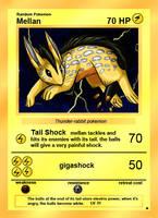 Pokemon card contest: Mellan by Avanii