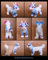 Plushie Commission: Otis the Aliendog by Avanii