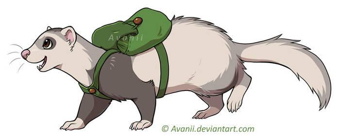 Adventure Ferret Lena by Avanii