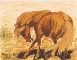 The Horse for Yasahiimitsu:P by marysia1990