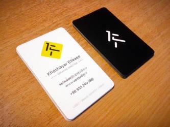 UP Studio Business Cards by kelikaee