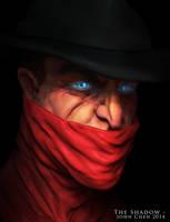 The Shadow - Speedsculpt by amokk20