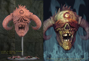 Horned Demon by amokk20