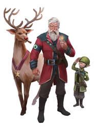 General Santa by wyncg