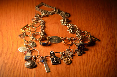 Personalized Charm Necklace by eca002