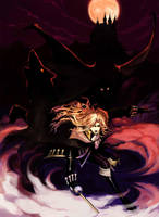 -Castlevania- Alucard by wide-j